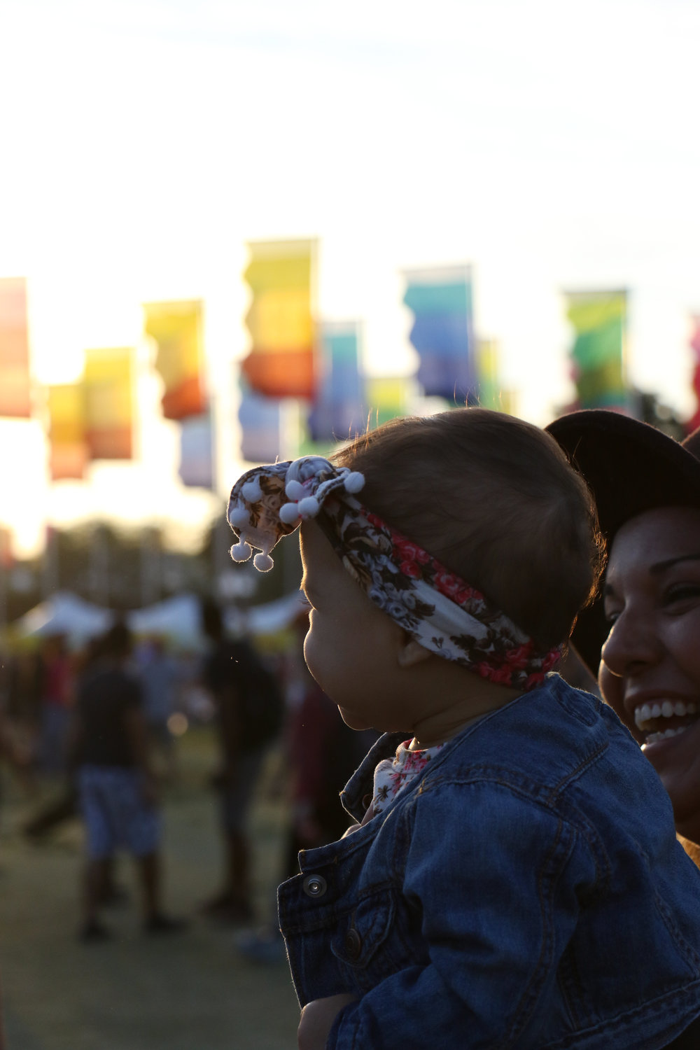 Festival-goers of all ages enjoy the music-filled weekend.