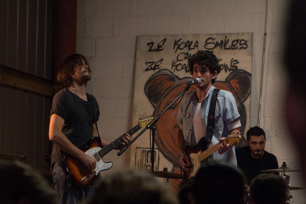 Daniel Eyes & The Vibes, a local Austin band, perform their first Sofar.