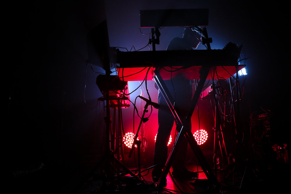 Nicolas Jaar combines rhythms from various cultures to create his electronic music.