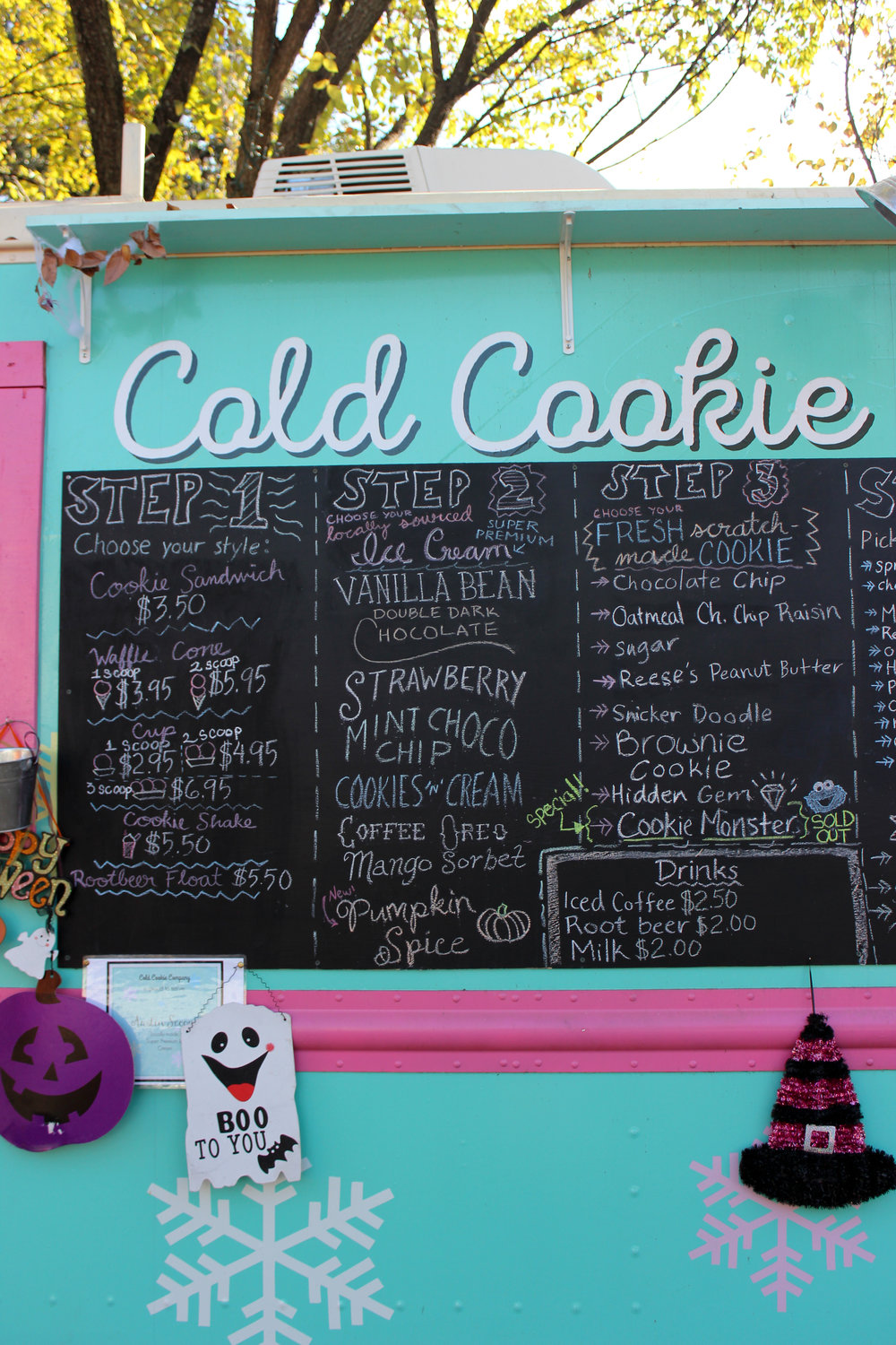 Cold Cookie Co. is located in West Campus on 26th Street.
