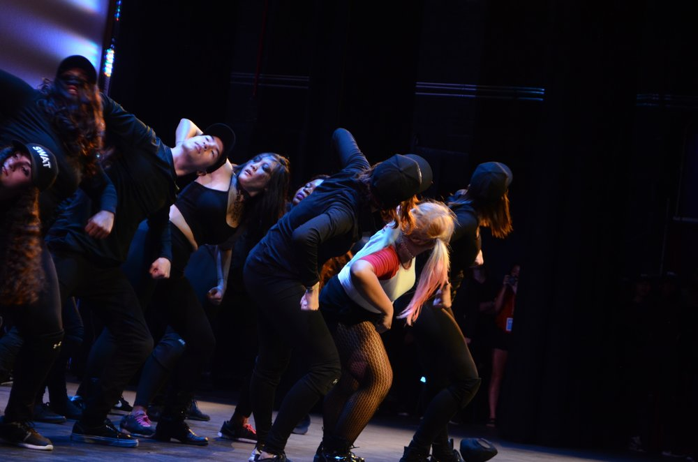 The night ended with an action-packed number by the Redefined Dance Company.
