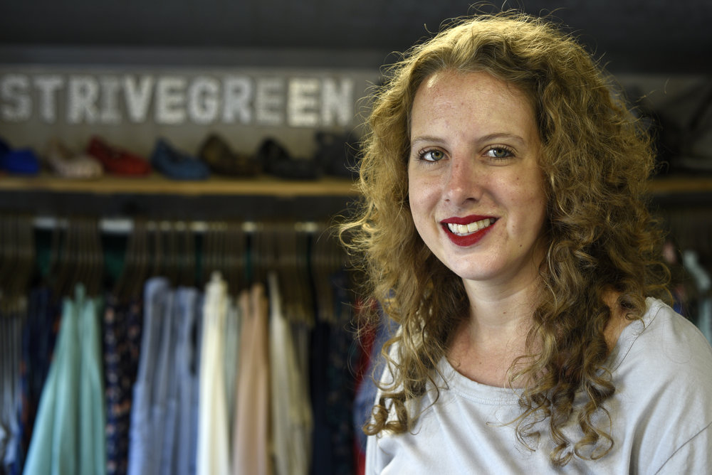 Julie Bennis, the founder and owner of StriveGreen.