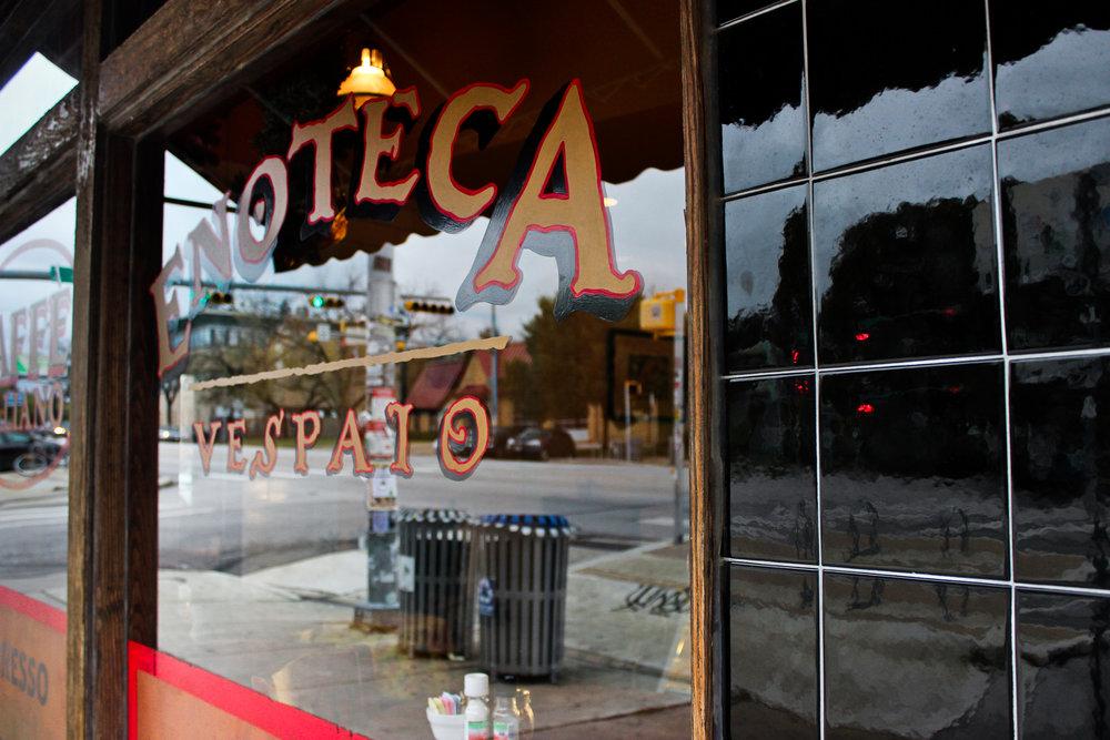 Enoteca Vespaio is a quaint restaurant located on South Congress.