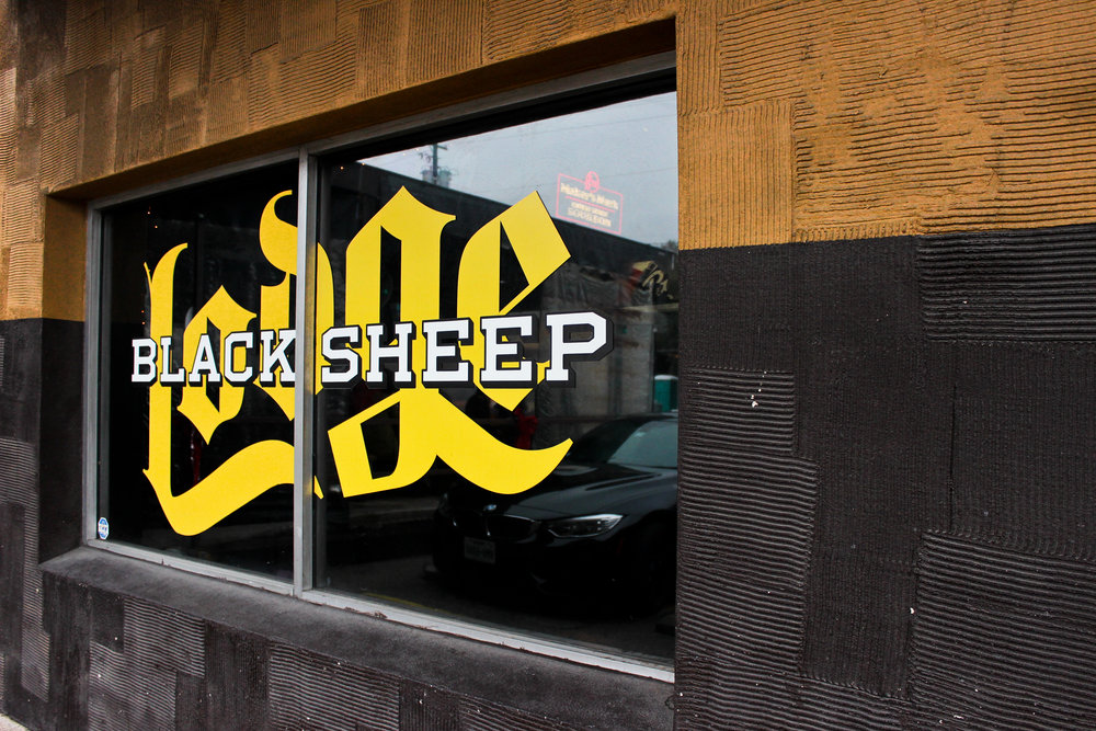 Black Sheep Lodge is an outdoor beer garden with a full bar and grill.