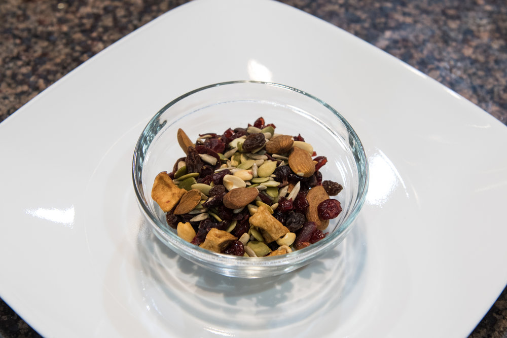 Mixed nuts and seeds can serve as a great alternative to snacks such as potato chips.