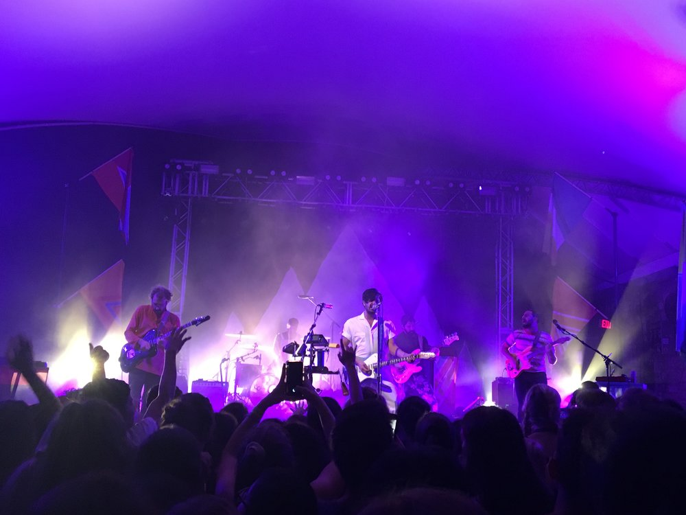 Young the Giant stops in Austin for their Home of the Strange tour.
