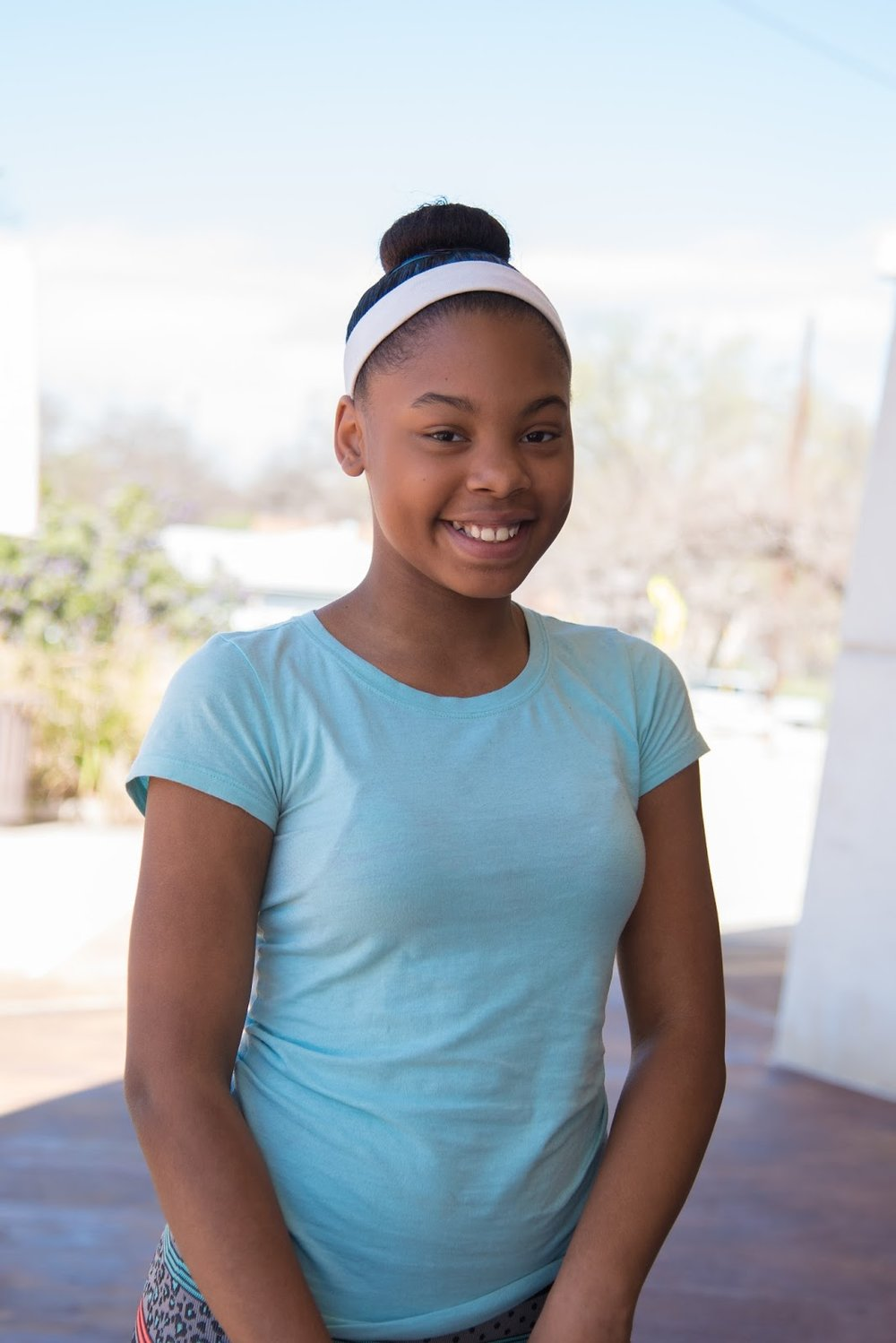 """[Black History Month] is a month that we celebrate black people who lived for black people."" Teanna, age 12."