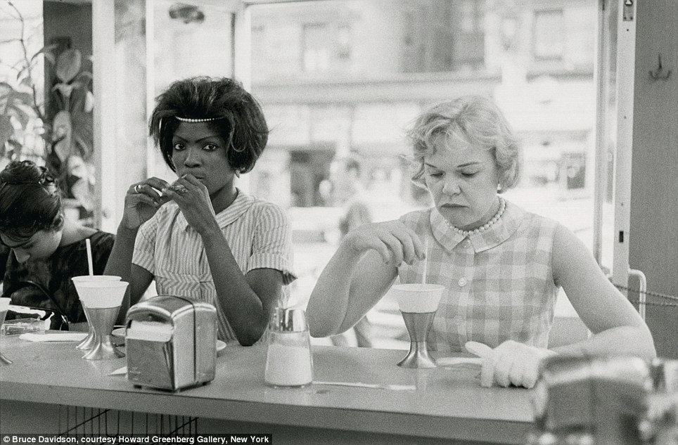 Photo by Bruce Davidson, courtesy of the Howard Greenberg Gallery in New York.