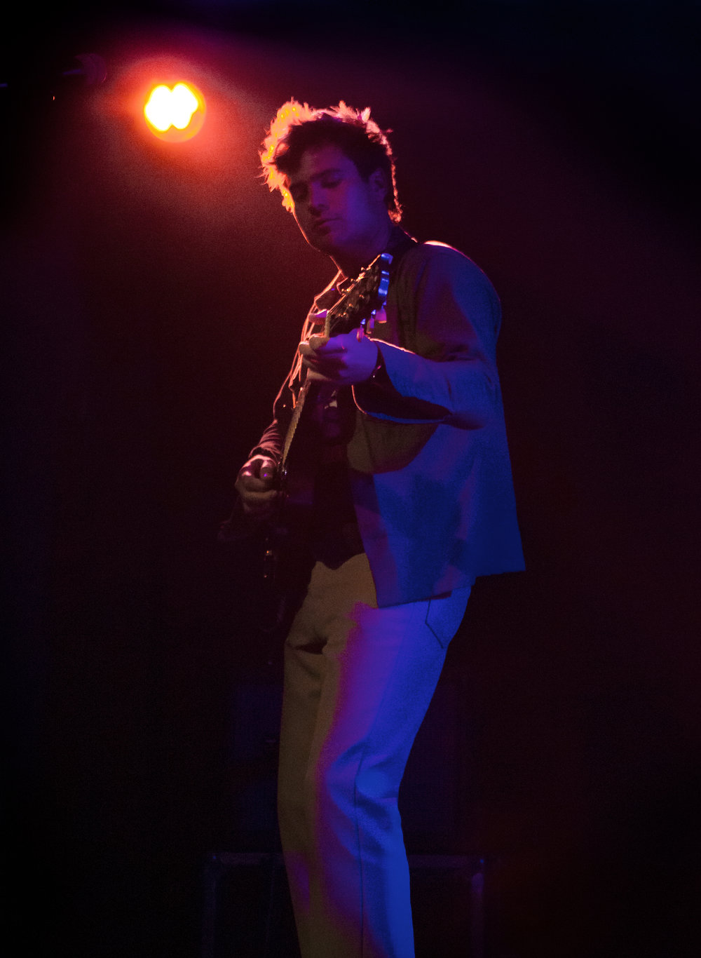 The Growlers played many songs from their new album, City Club, which has a sound that significantly departs from that of previous records.