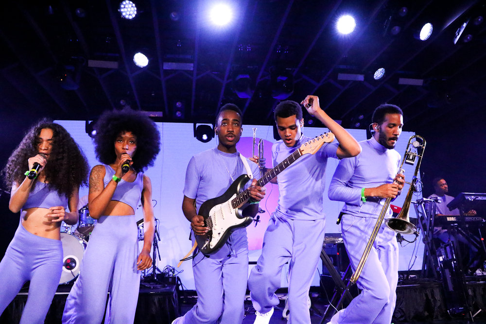 Solange's crew blows the crowd away during SXSW.