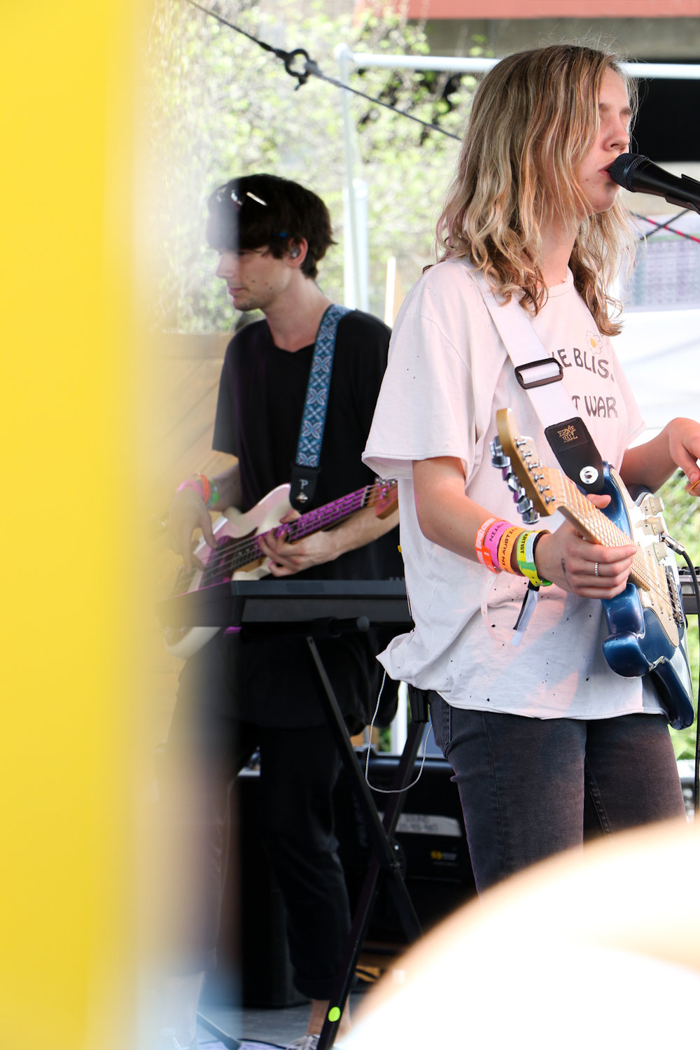 One of The Japanese House's shows took place at Urban Outfitter's Space 24 Twenty.
