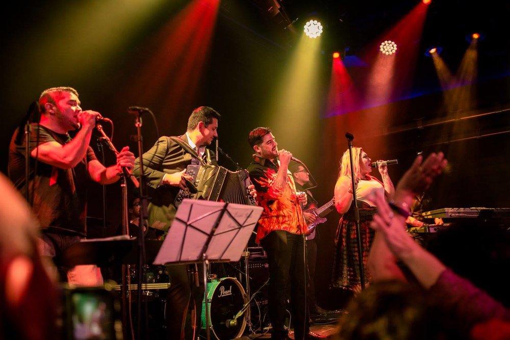 Bidi Banda uses a variety of instruments to capture Selena's Tejano sound.