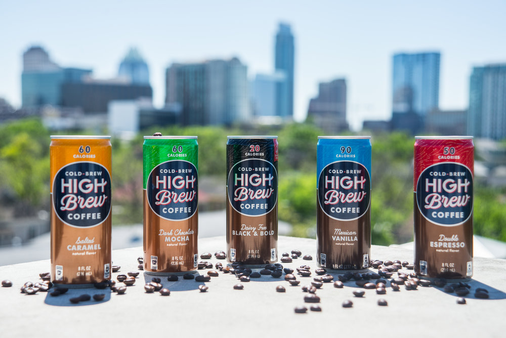 High Brew Coffee was founded right here in the great city of Austin, Texas.