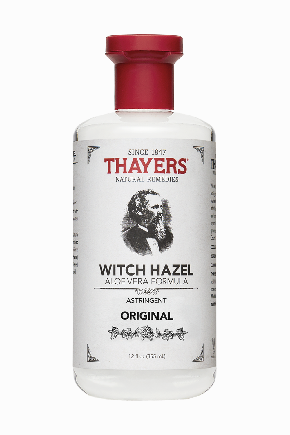 Witch Hazel - Witch Hazel is a topical astringent that comes from the bark and leaves of Hamamelis virginiana and has been long recognized by Native Americans for its skin irritation healing effects. This popular herbal product is now known as a natural cleanser and toner that Zendaya says she uses as the first step in her skin care routine.