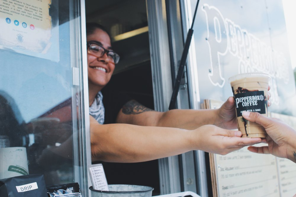 Pepperbox Coffee seeks to aid the employment crisis for the deaf and hard of hearing population of Austin by showcasing their talents to provide delicious coffee, while raising awareness of this underrepresented community to Austinites.