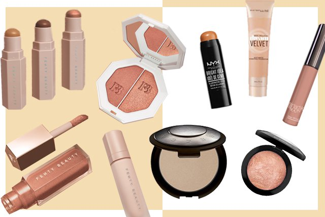 Fenty - Rihanna's golden touch has done it again. With 40 unique shades of foundation, Fenty Beauty released one of the biggest and most anticipated drops in the industry this year. The cruelty-free products blasted social media with a goal that threw other major players into a manic to respond: include all women. From flawless lip gloss to killer highlighter, Rihanna is out here and she's taking names.