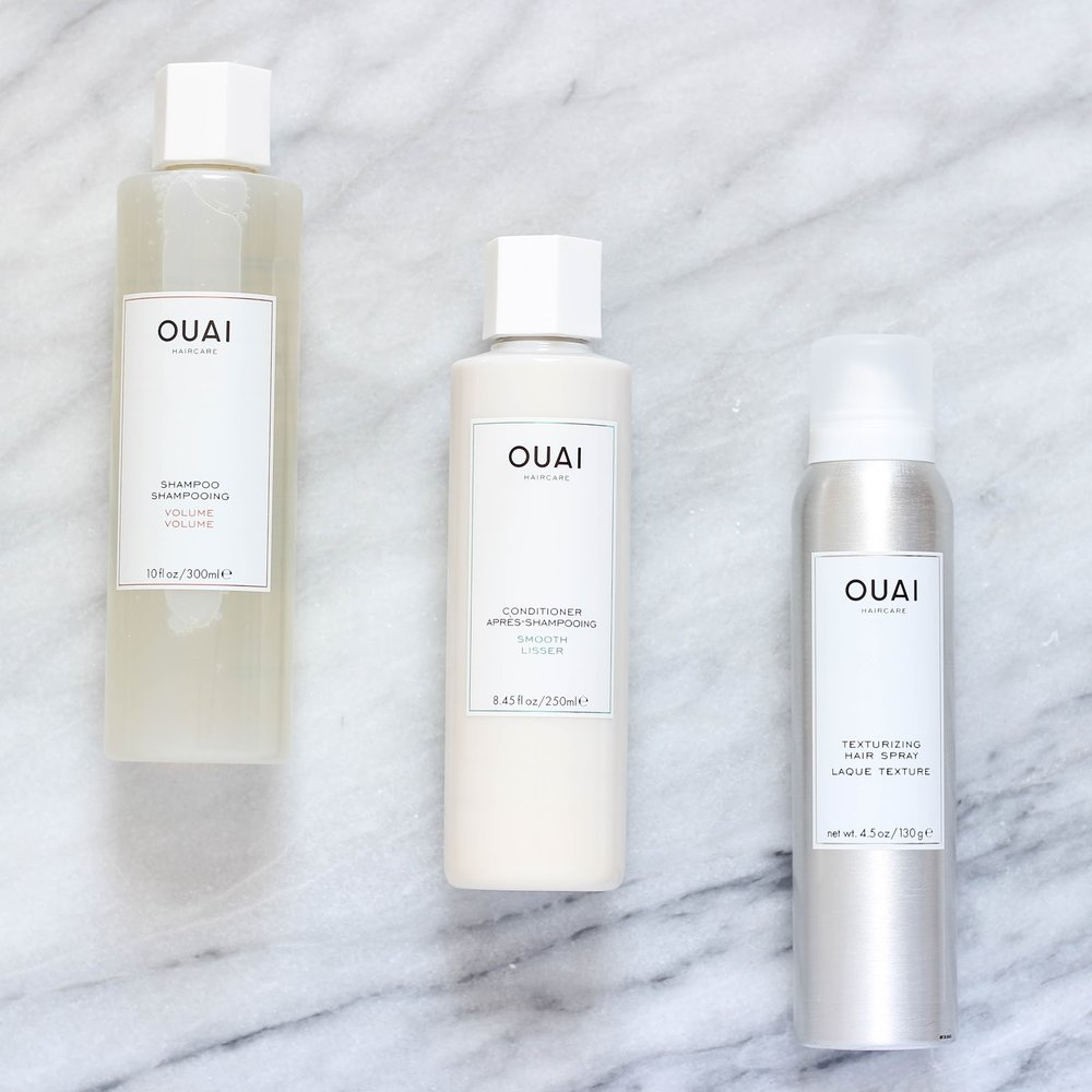 "Ouai - Created by Jen Atkins in 2016, Ouai (pronounced ""way"") is a hair-care line praised by A-list celebrities and the beauty community alike. Now found in Sephora stores and retailers all over the world, it's easy to see why the products are flying off the shelves. Not only do the products smell incredibly sophisticated, their quality gives even the finest hair brands a run for their money. Whether it's beachy waves or a classic Hollywood curl, Ouai has you covered."