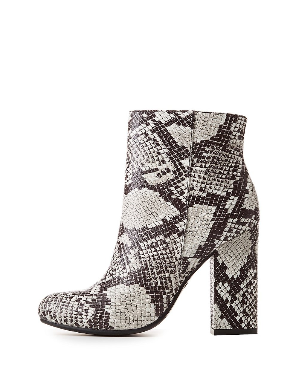 Bamboo Faux Snakeskin Booties ($28.69) - Upgrade your heeled bootie game with these snake skin stunners. Easily paired with raw-hemmed jeans or a pleated midi-skirt, these shoes serve as a great transitional piece.