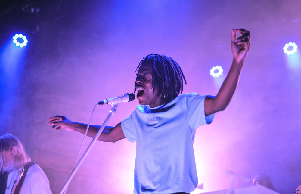Daniel Caesar is a 22-year-old R&B and soul singer-songwriter from Canada.