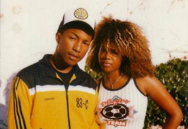 Kelis and Pharrell Williams of The Neptunes