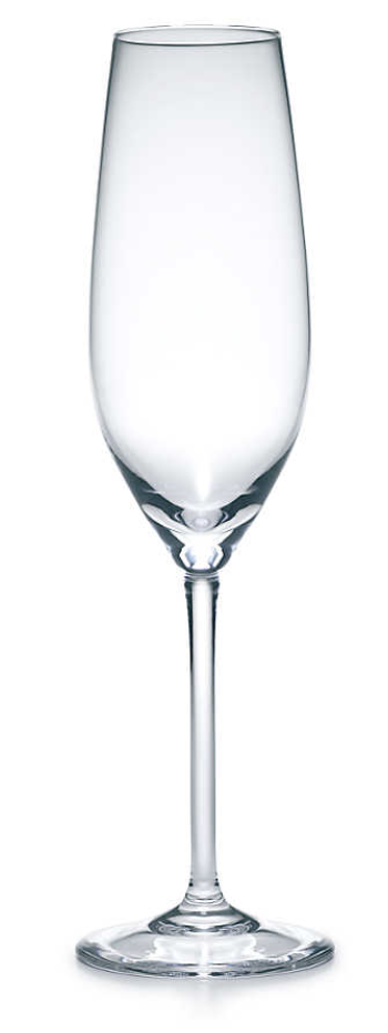 Champagne Flute ($25) - This elegant piece from the iconic brand Tiffany & Co. is a splurge, but in a small apartment kitchen, one or two of these champagne flutes are perfect for special occasions and will last a lifetime.
