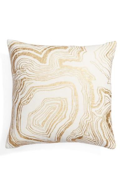Nordstrom at Home Foil Print Pillow ($39) - Eye-catching metallic patterns on this pillow will liven up any living area instantly. Also available in silver and rose gold tones, choose the metal that best matches your existing decor.