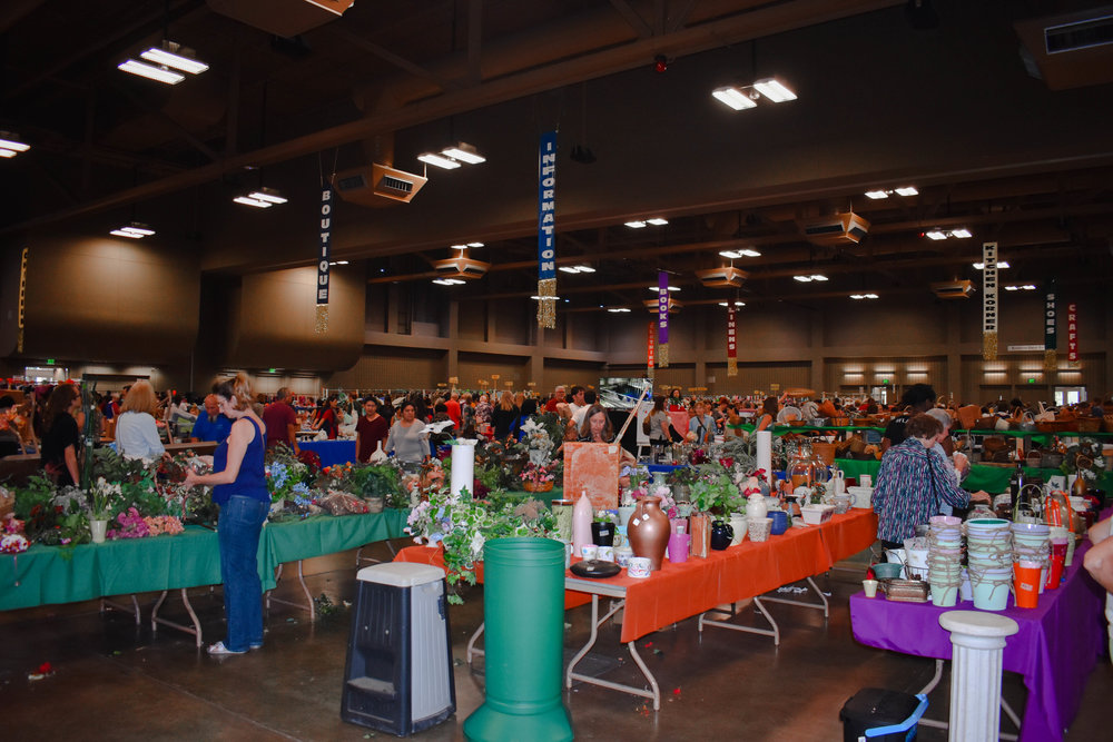 The sale brings in thousands of Austinites each year, with all proceeds benefiting The Settlement Home.