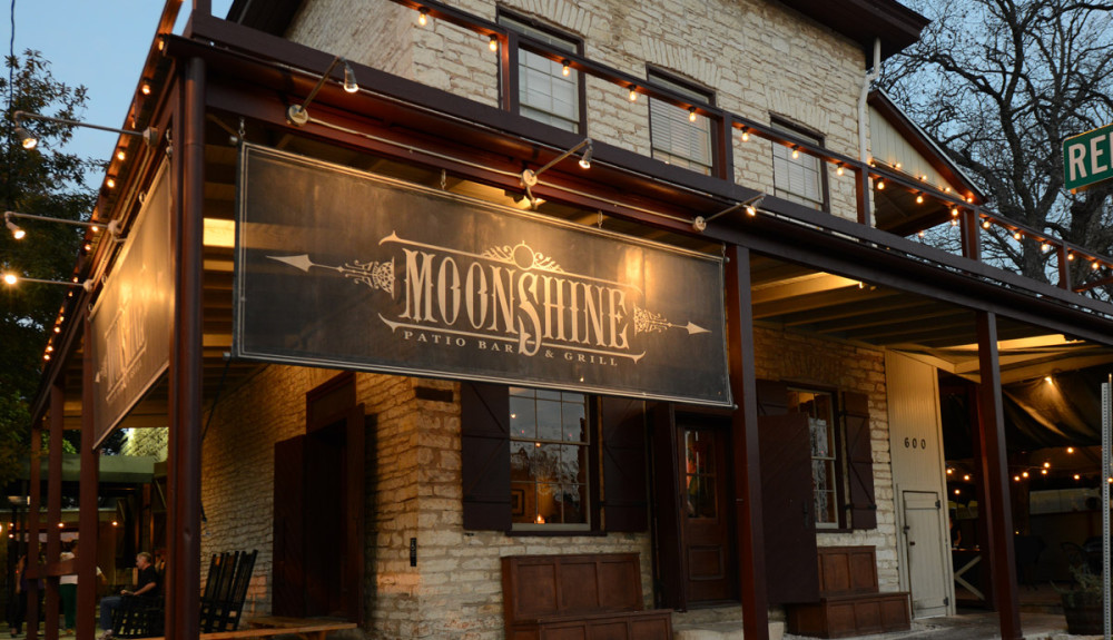 Photo courtesy of Moonshine Patio Bar and Grill