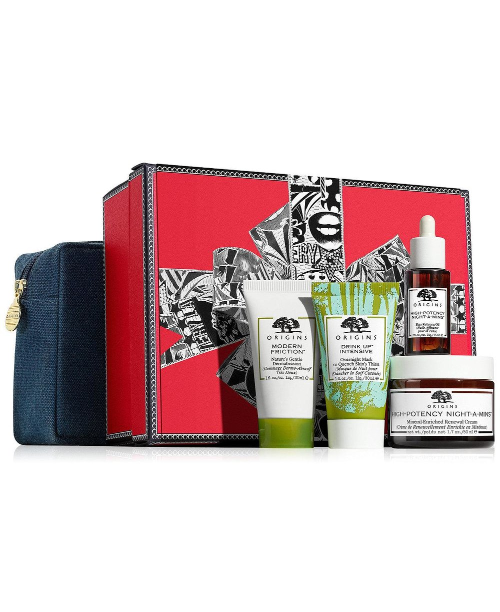 Origins Five-Piece Rest & Renew Gift Set - $40 ($84 value)