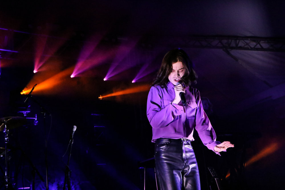 BØRNS put the Stubbs' audience in a trance last Friday night.