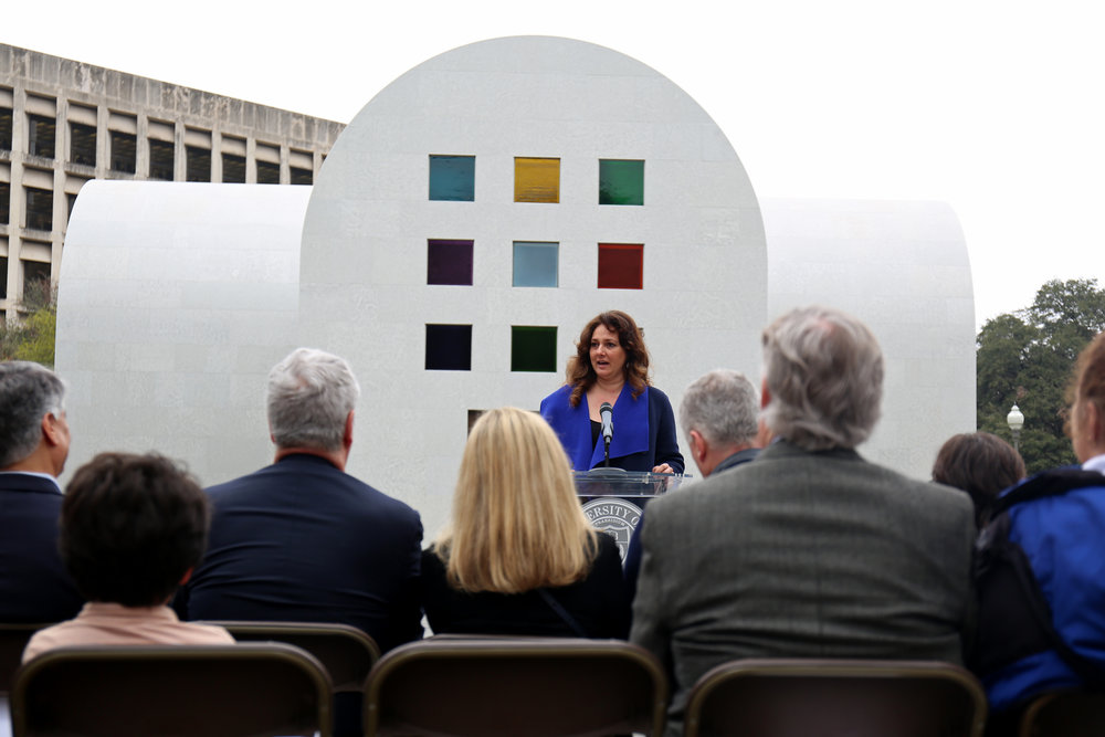Wicha shares the success story of the museum's decision to host such a monumental art exhibit.