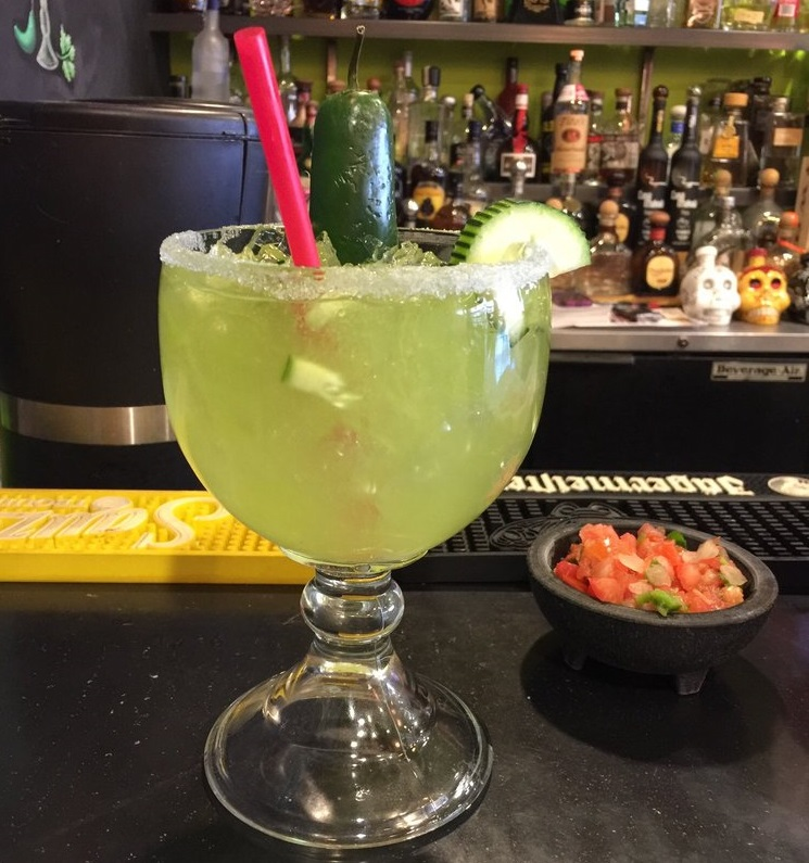 Chuy's Cucumber Jalapeño Margarita.JPG