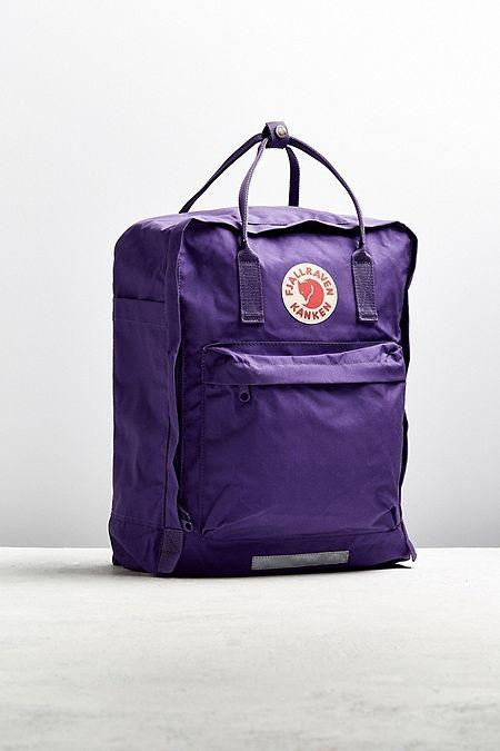 Fjallraven Kanken Big Backpack - $110 - Backpacks are a college staple yet they are often neglected when it comes to pulling together the perfect fit. This ultraviolet bag by Fjallraven is the perfect statement bag for those who love keeping up with that perfect #instagram aesthetic on campus and will be sure to rack up a ton of likes on the 'gram. Find it here.