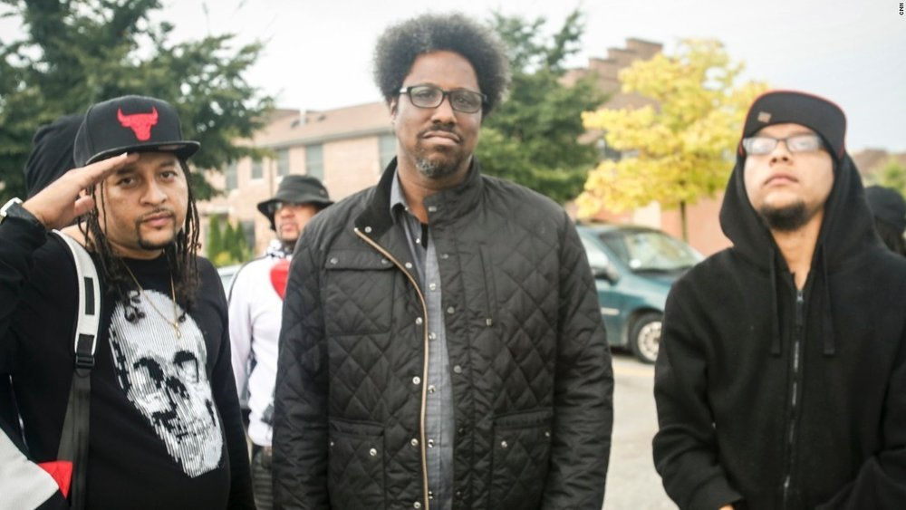 "W. Kamau Bell shooting ""United Shades of America"" season one. Photo courtesy of CNN.com."