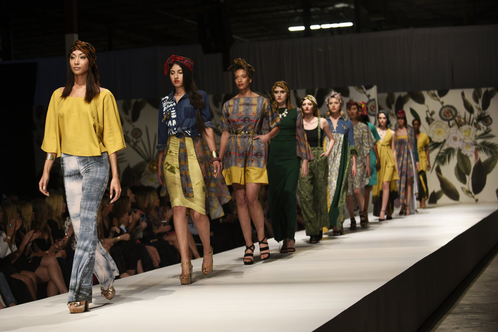 "Designer Chavon Shree debuts her spring and summer collection titled, ""African Amazon""."