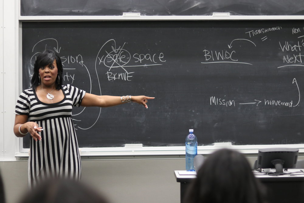 Anderson attends BIWOC week and speaks about her experience as a black trans woman.