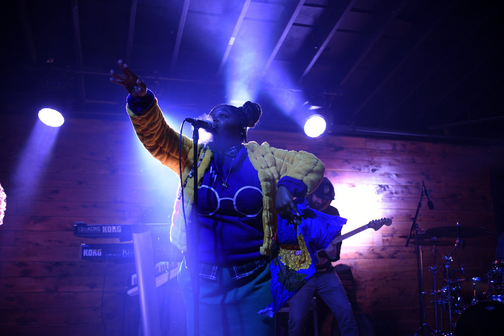 Tank and the Bangas performed songs off their newest album.