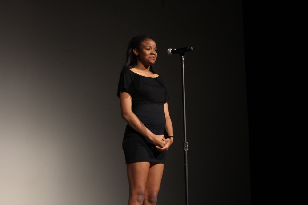 Kelly Nwonuma performs a monologue written by Lauren Bell.