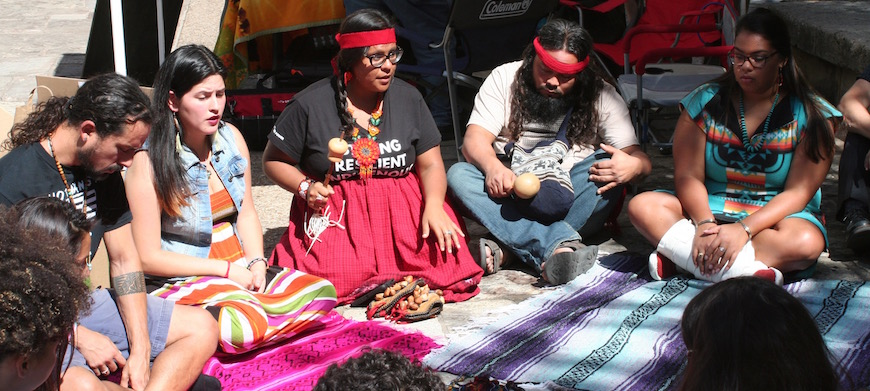 Photo courtesy of Native American Indigenous Studies at the University of Texas at Austin