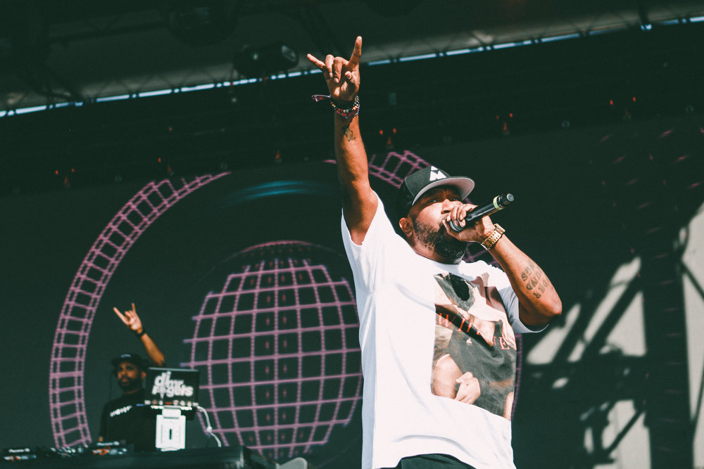 Bun B brought some old-school rap to JMBLYA.