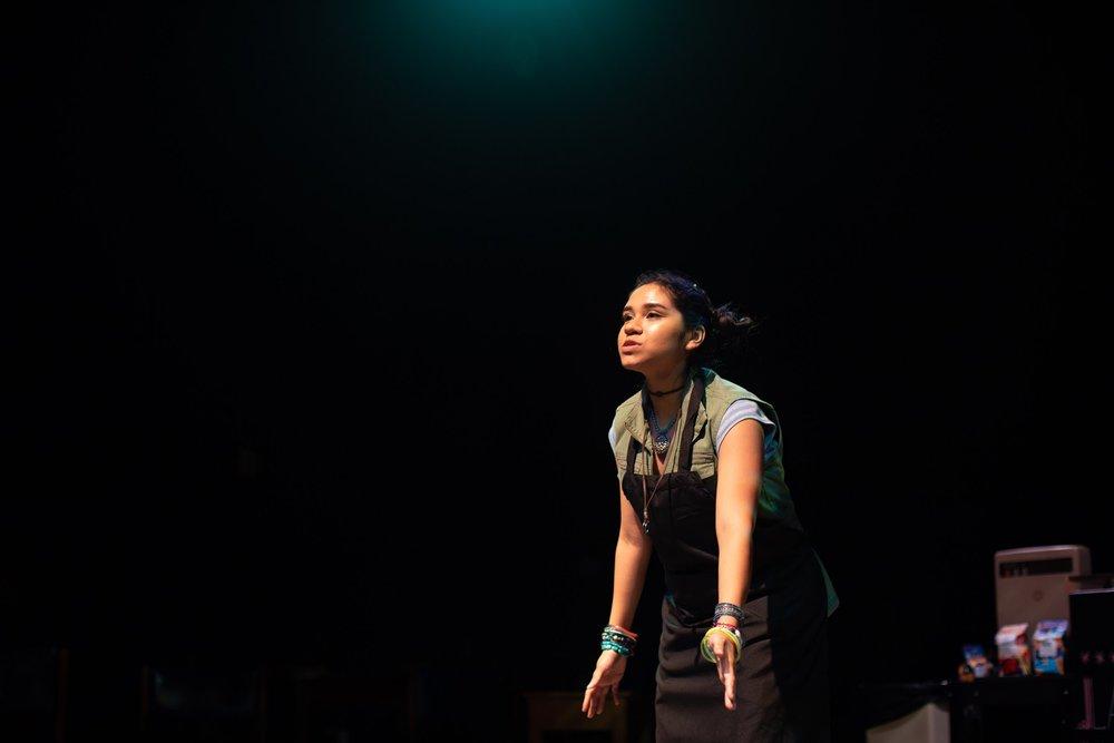 Mireya Luna as Ariel, photographed by Frank Urbine.