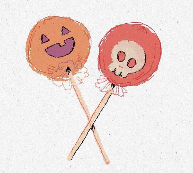 Organic Lollipops - Filled predominantly with sugar, lollipops are among the few candies that have low allergenicity. However, be mindful that they may contain traces of soy oil depending on where they have been processed.