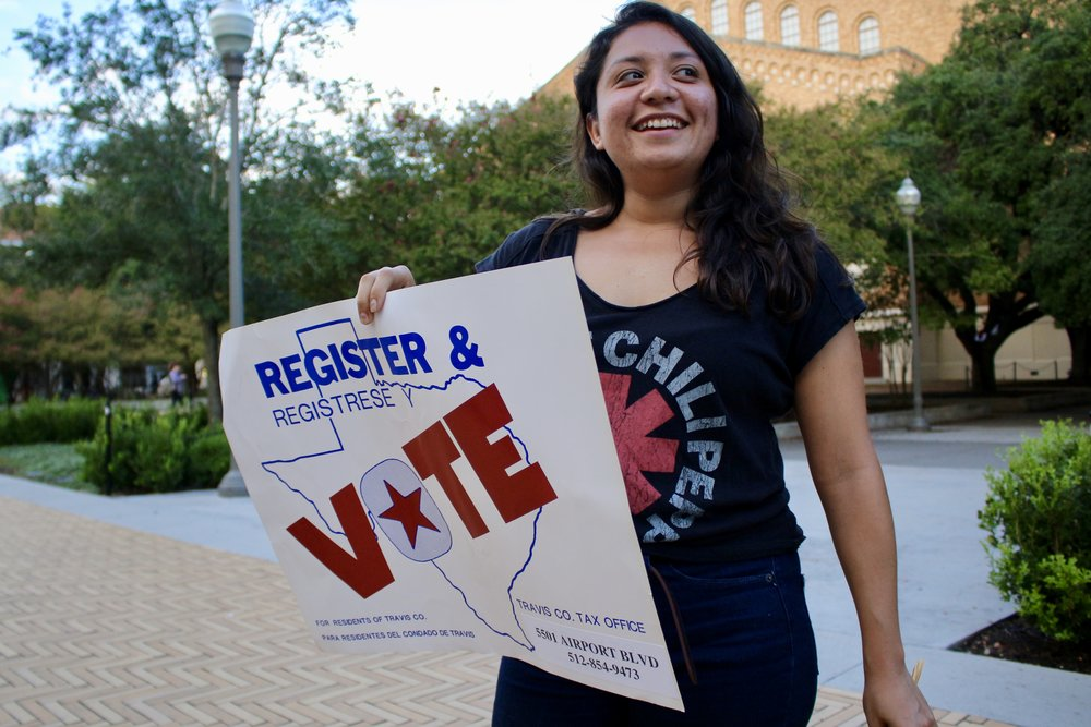 Jolt Texas registered over 5,000 voters across Texas.