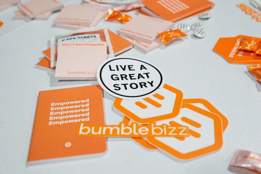 Bumble connects users with one another, looking to network, connect and mentor.