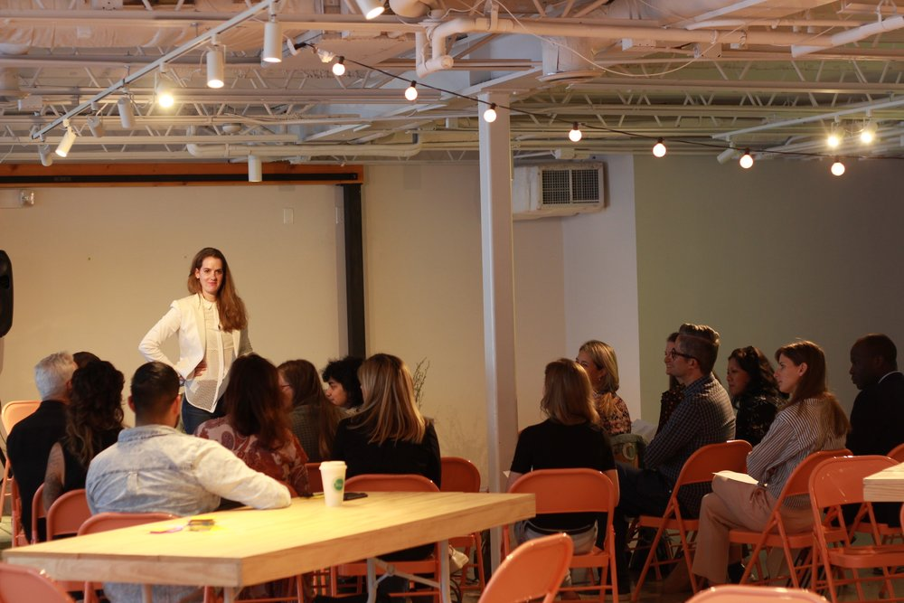 Jennifer Millspaugh, the founder of Austin Fashion Initiative, educates the Austin fashion community on ways to further globalize as well as improve their own fashion businesses.
