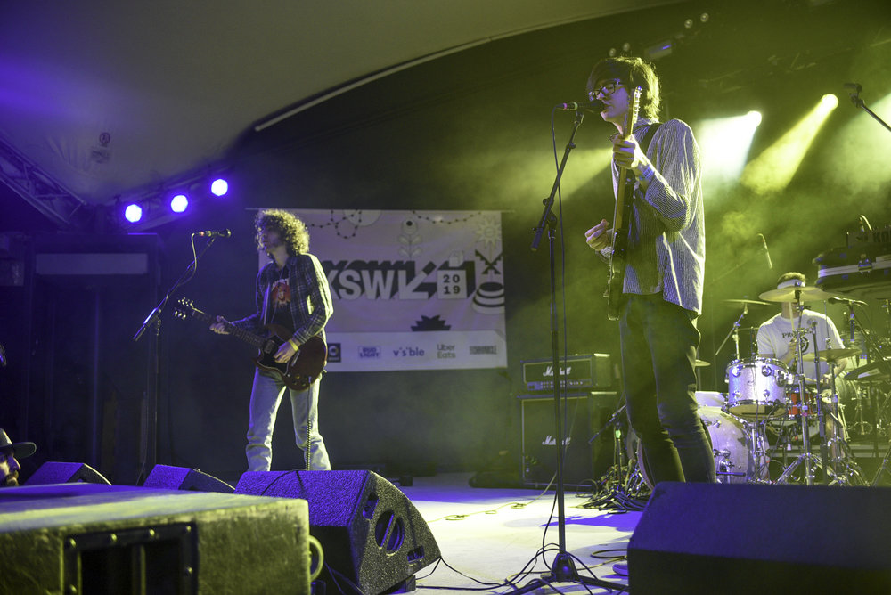 Car Seat Headrest played at the Ticketmaster showcase at Stubbs on Thursday, March 14. The band normally plays with the band Naked Giants live but at SXSW played solo.