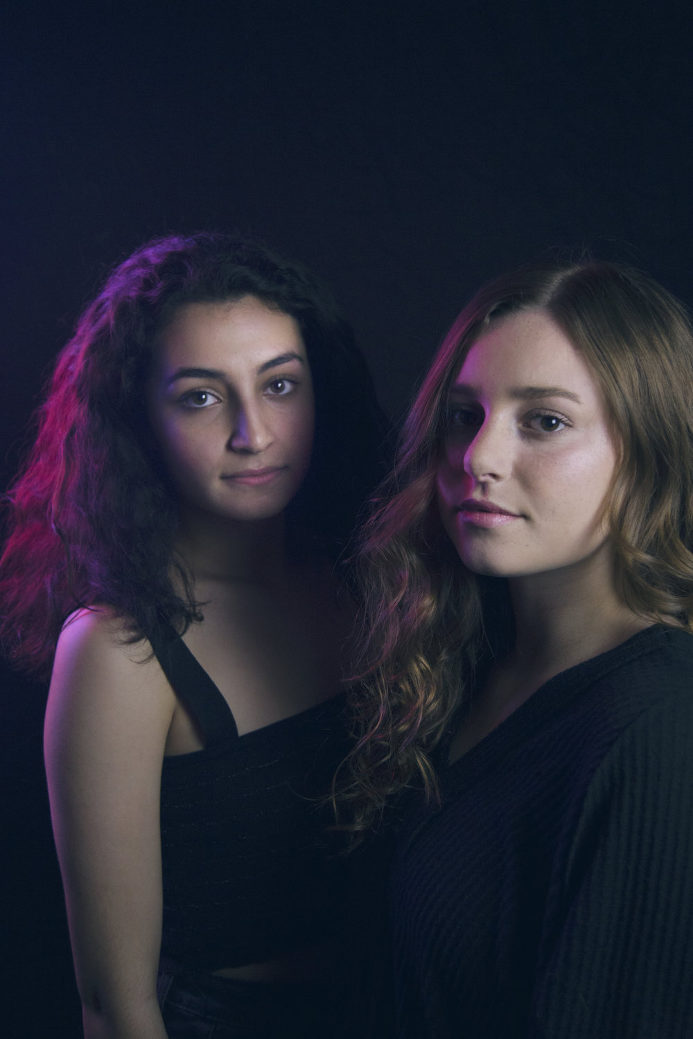 From left to right: Leela Brassil, Avery Somma