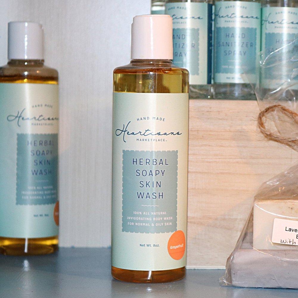 Herbal Soapy Skin Wash