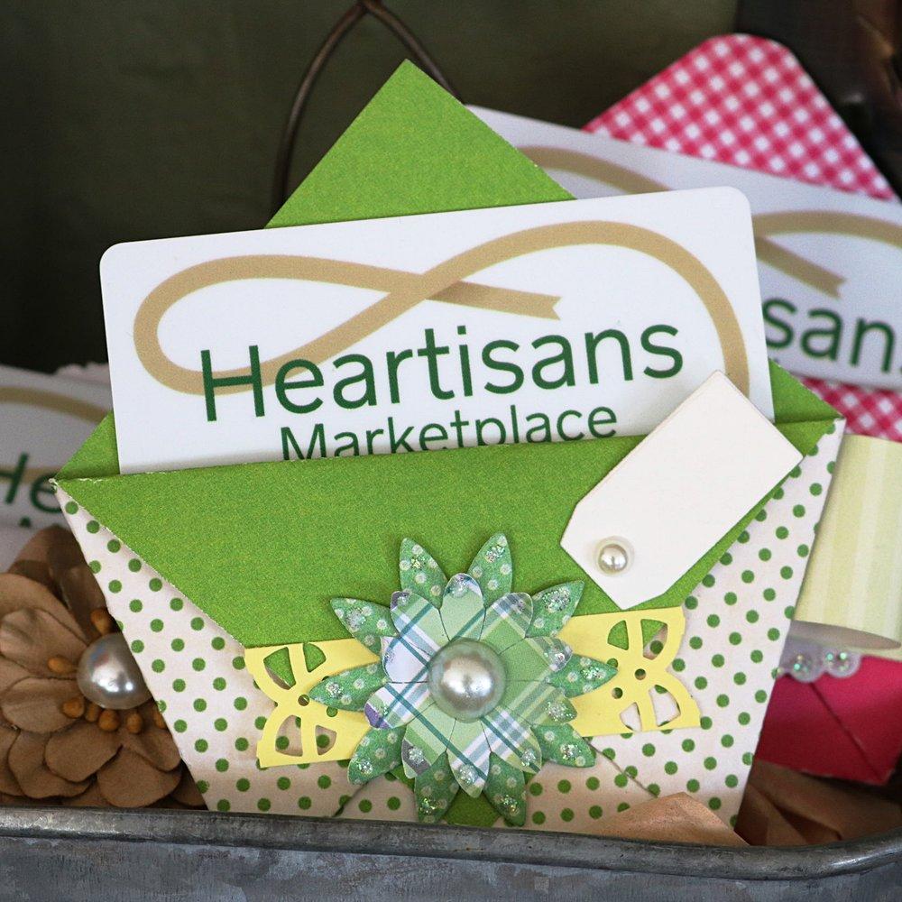Handmade Gift Card Holders