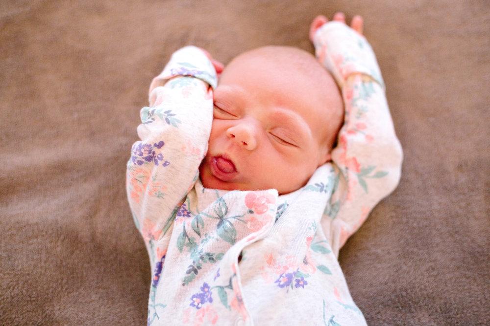 Arizona Lifestyle Newborn Photography